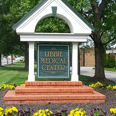 Libbie Medical Center sign at our Richmond, VA periodontic office