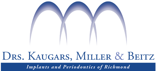 Logo for Drs. Kaugars, Miller & Beitz Implants and Periodontics of Richmond